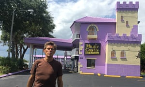 Purple realm … Willem Dafoe as hotel manager Bobby in The Florida Project.
