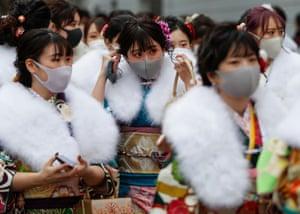 Masked women