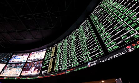 Betting on individual games is legal in Nevada but forbidden in other states