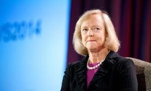 Meg Whitman, the former chief of Hewlett-Packard
