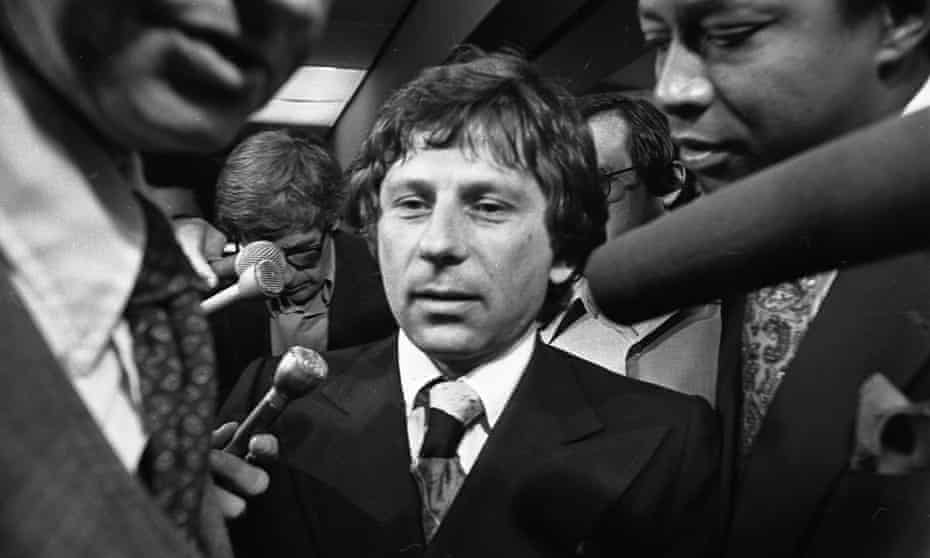 Roman Polanski at a court appearance in Los Angeles in 1977.