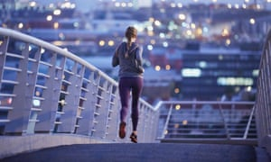 Women are being asked to modify their behaviour when out for a run alone.