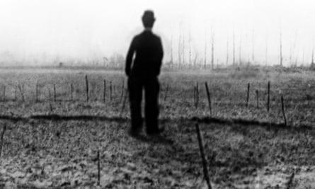 Fleeting and dreamlike ... a still of Charlie Chaplin from Charlie Ward.