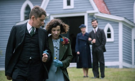 'Questionable territory': Ethan Hawke as Everett Lewis with Sally Hawkins in the title role of Maudie.