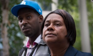 Doreen and Stuart Lawrence, the mother and brother of murdered teenager Stephen.