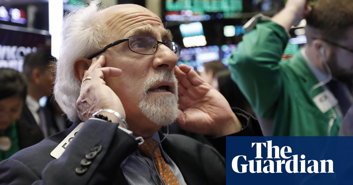 Stock market tumbles amid fears the rise of big tech is over
