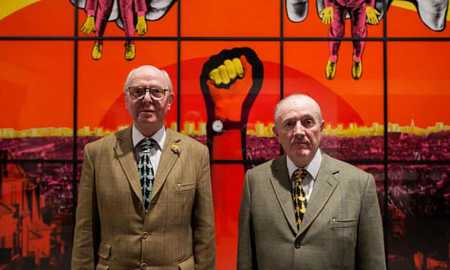 Gilbert & George were among the first modern artists to move to Spitalfields