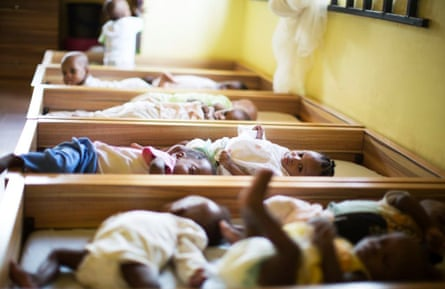 The babies in the Vine Heritage Home Foundation in Nigeria have all been branded evil by their local communities