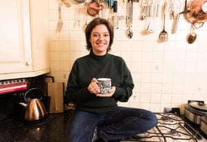 Jack Monroe in her kitchen in Southend-on-Sea, Essex