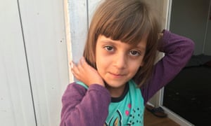 Sylvana, aged six, was rescued from organ traffickers and reunited with her family.