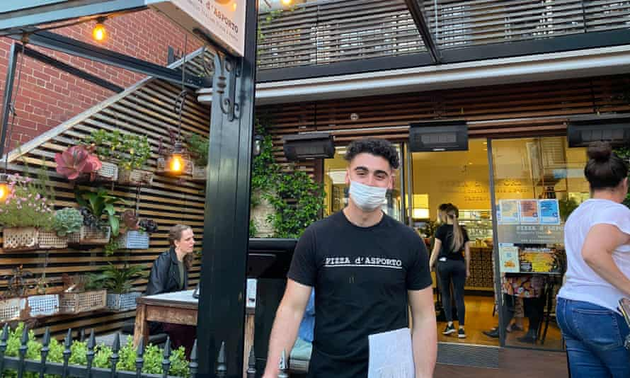 Anthony Acquaro had to tell people it was a 30-minute wait for a table at his pizza restaurant in Yarraville