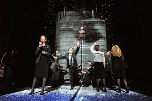 Enron by Lucy Prebble at the Noël Coward theatre, London, in 2010.