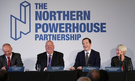 The Northern Powerhouse Partnership, chaired by the former chancellor, George Osborne