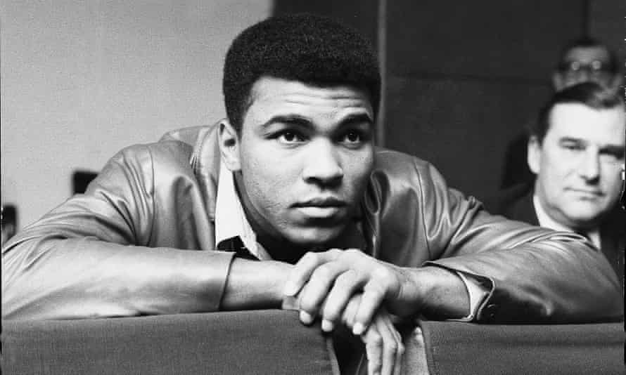 'He always believed in implementing love and inclusion and he always was against racial inequality from the start because of what he grew up in' ... Muhammad Ali in 1966
