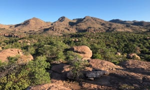 A view of Oak Flat, which is threatened by a proposed copper mine.
