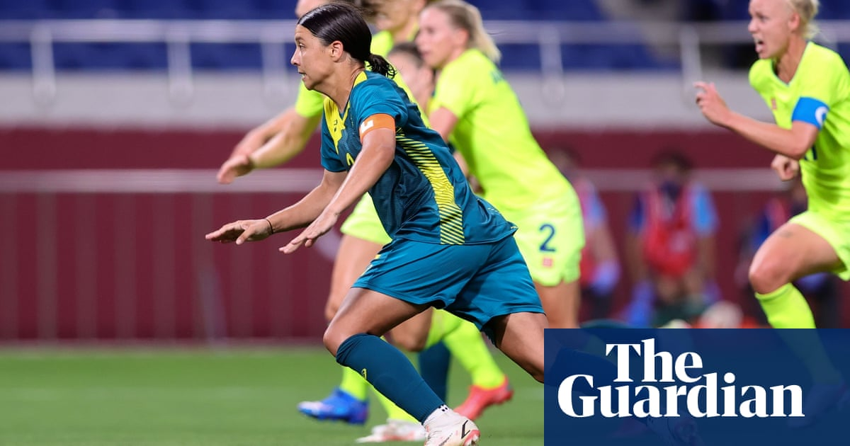 Sam Kerr's penalty demons return in Matildas' Olympic defeat to Sweden