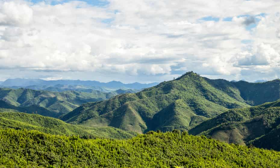 The Nam Et-Phou national protected area.