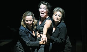 Marieke Heebink, Chris Nietvelt and Frieda Pittoors in the 2009 production of Ivo van Hove's The Roman Tragedies, coming to the Barbican this year.