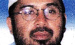 Hambali, the suspected mastermind of the Bali and Jakarta JW Marriott bombings.