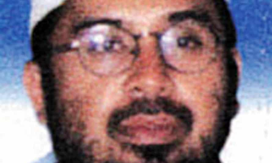 Hambali, the suspected mastermind of the Bali and Jakarta JW Marriott bombings.