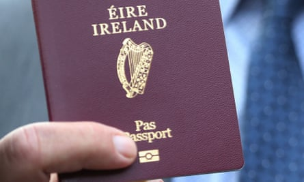 Almost 200,000 Irish passport applications were received from the UK this year.