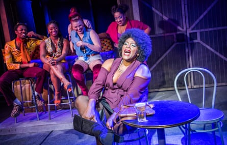 Sharon D Clarke and cast in The Life at Southwark Playhouse.