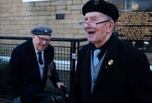 Banter between two veterans.