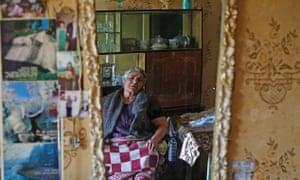 Radif Shamoyan, 61, in her flat.
