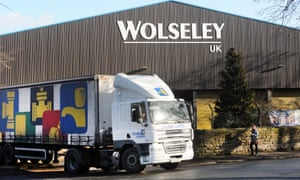 A Wolseley UK warehouse in Ripon, North Yorkshire