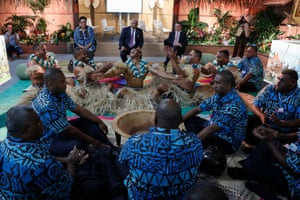 """Fiji has renamed the talks from the bland """"facilitative dialogue"""" to the """"talanoa dialogue"""" after a Pacific island concept of using storytelling and talking as a way to make good decisions."""