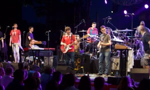 Snarky Puppy, here performing on stage at Jazz a Juan festival, Antibes, France, will headline Jazz in Marciac 2016.