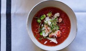 OFM May 2016 Nigel Chilli Gazpacho Crab Cucumber