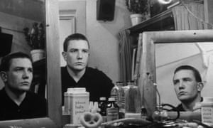 Latent power … Albert Finney backstage before the Tony award-winning play Luther in New York, 1963.