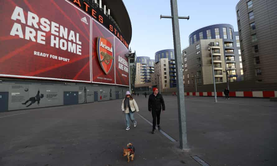 Arsenal face not playing their Europa League match against Benfica at the Emirates Stadium.