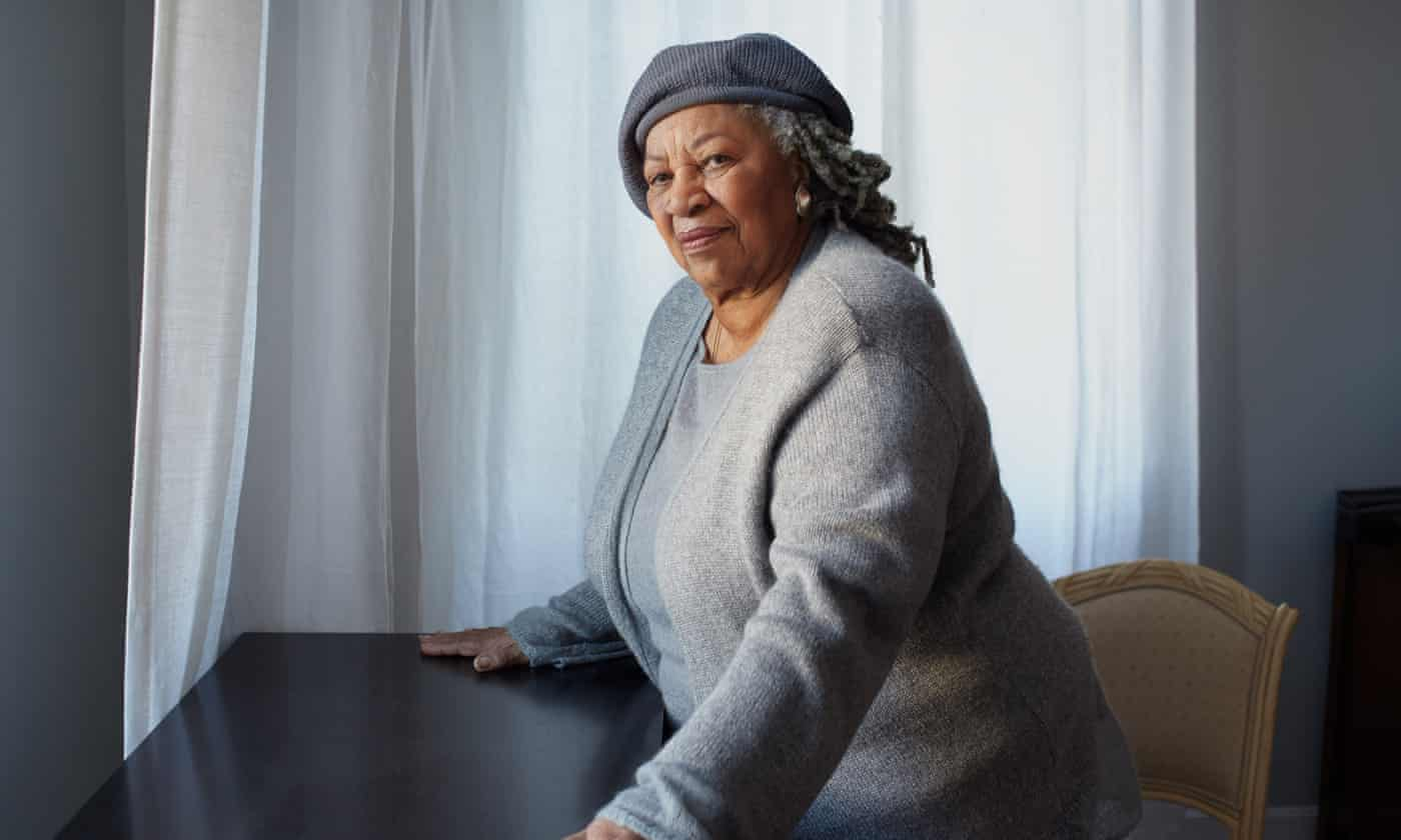 Toni Morrison on her novels: 'I think goodness is more interesting'