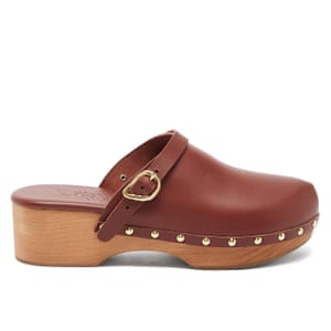 Wood worksThanks to Celine and Hermes clogs are set to be this summer's hottest shoe. Snap up a pair now. £280, Ancient Greek Sandals, (matchesfashion.com)