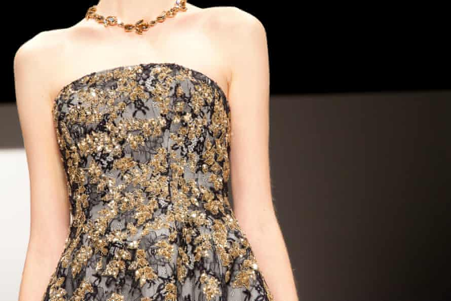 Delicate details and embroidery