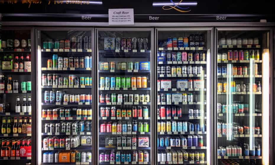 Selection of locally-brewed craft beers for sale in Sydney, NSW, Australia