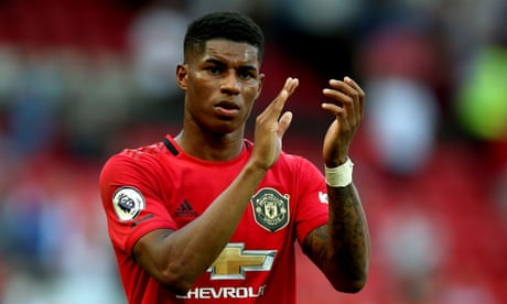 Manchester United's Marcus Rashford target of racist abuse on Twitter