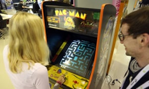 Arcade adventure … Pac-Man.