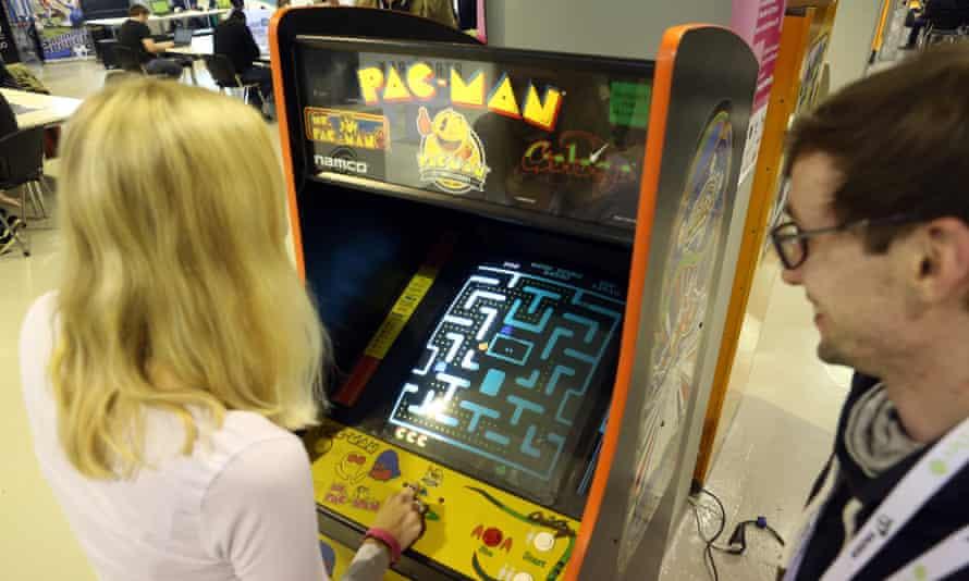 Arcade adventure … Pac-Man.