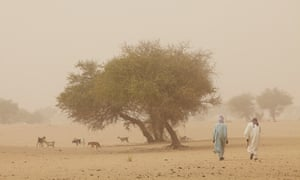 A picture from February 2012 showing Bahr El Ghazal province, northern Chad, in the ecologically fragile Sahel region.