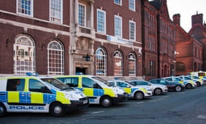 Birmingham Police station.