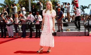 Chloë Sevigny at the premiere of Paterson during this year's Cannes film festival.