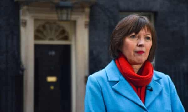 Frances O'Grady, the general secretary of the TUC.