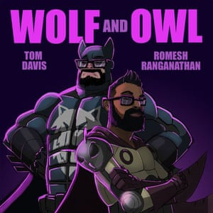 Wolf and Owl podcast Poster/logo image