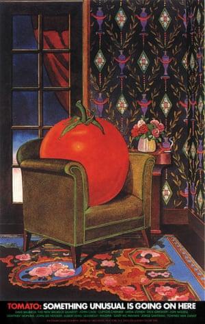Tomato poster by Milton Glaser