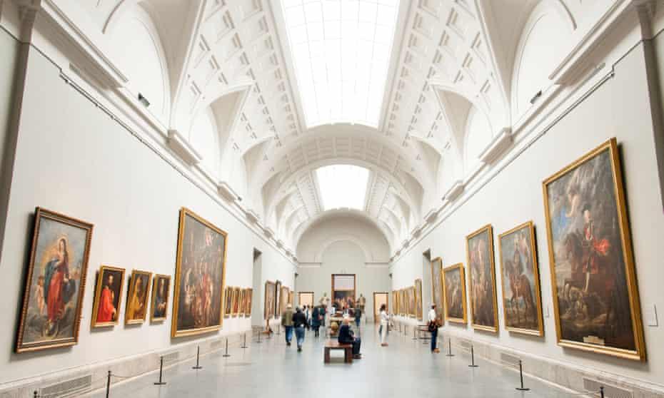Museo del Prado art gallery, Madrid.