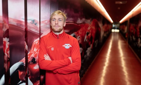 RB Leipzig's Emil Forsberg: 'We're not here to buy Mbappé and Messi. We're here to develop players'