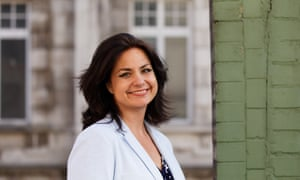 Change UK's Heidi Allen - the UK's most popular party leader, at least according to one YouGov measure.